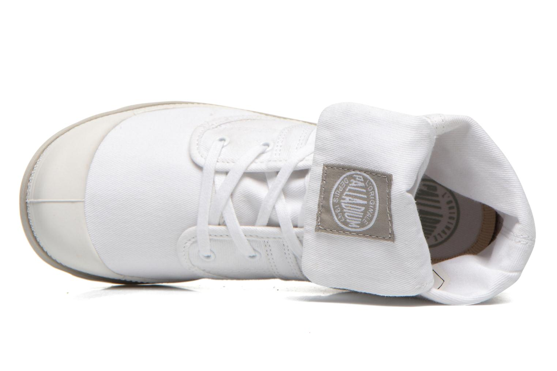 Baskets Palladium Baggy lit spo k Blanc vue gauche