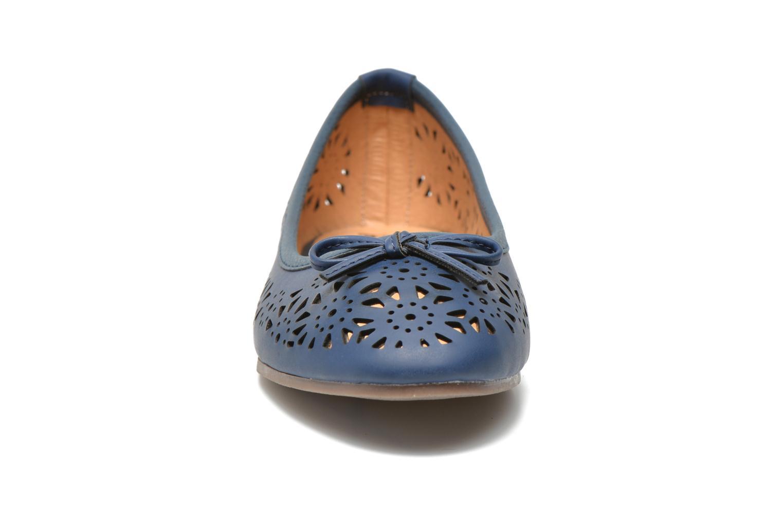 Ballerines I Love Shoes Suflatou Bleu vue portées chaussures