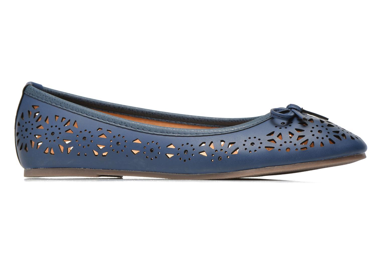 Ballerines I Love Shoes Suflatou Bleu vue derrière