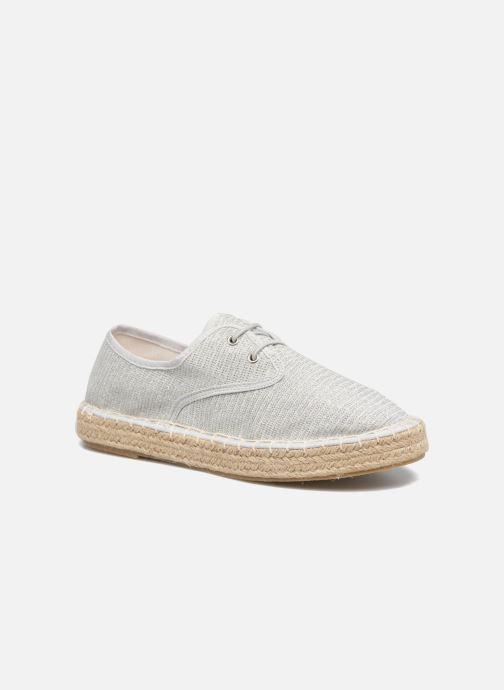 Espadrilles I Love Shoes Surmino Argent vue 3/4