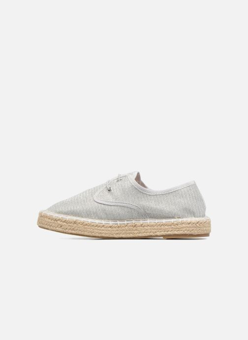 Espadrilles I Love Shoes Surmino Argent vue face