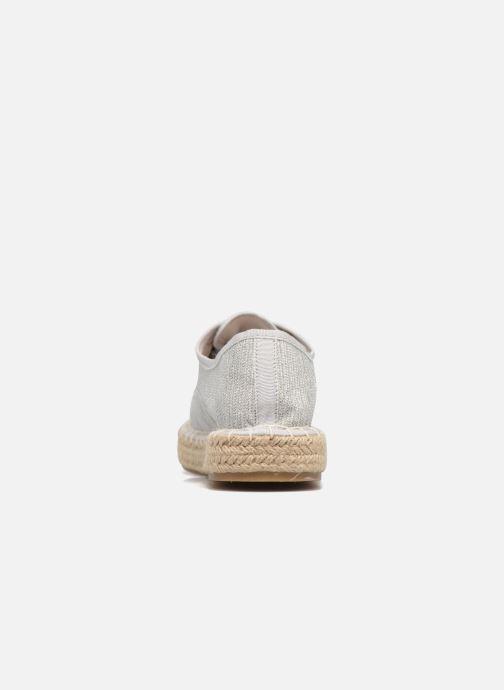 Espadrilles I Love Shoes Surmino Argent vue droite