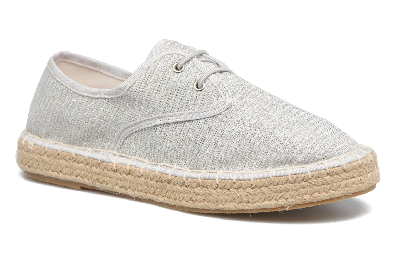 Alpargatas I Love Shoes Surmino Plateado vista de detalle / par