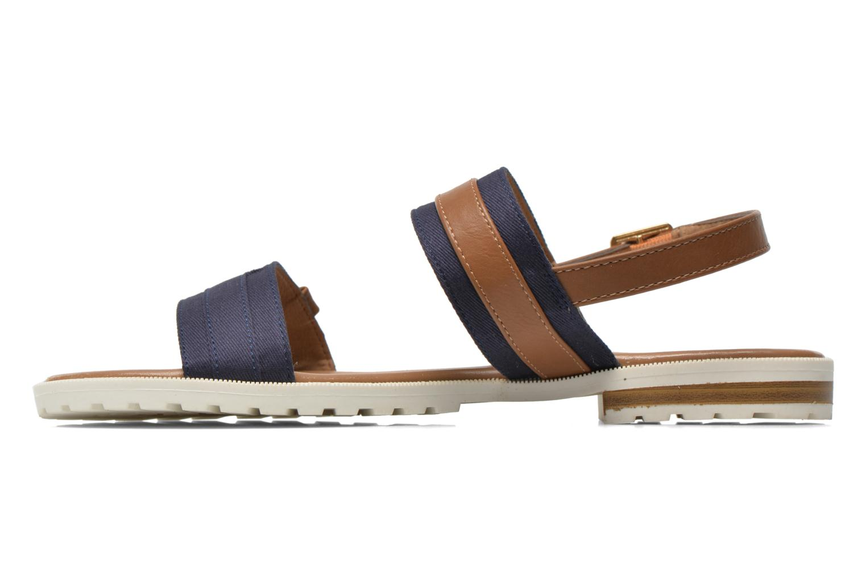 Sandales et nu-pieds I Love Shoes Subandi Bleu vue face
