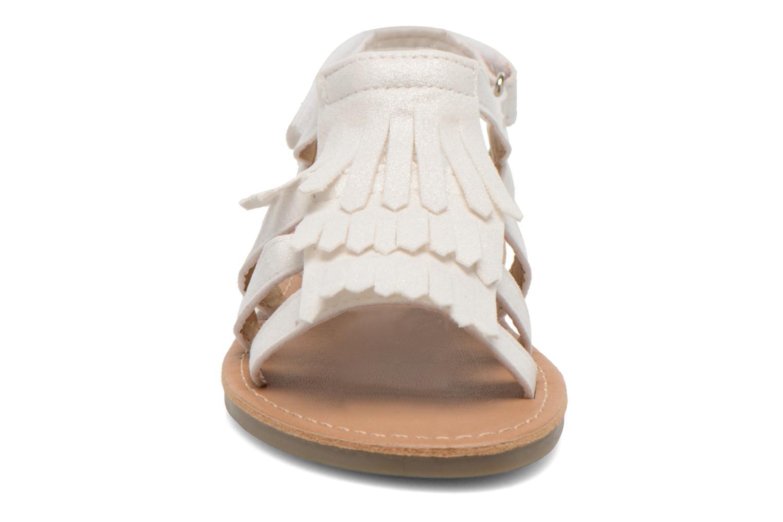 Sandales et nu-pieds I Love Shoes Kidfrange Blanc vue portées chaussures
