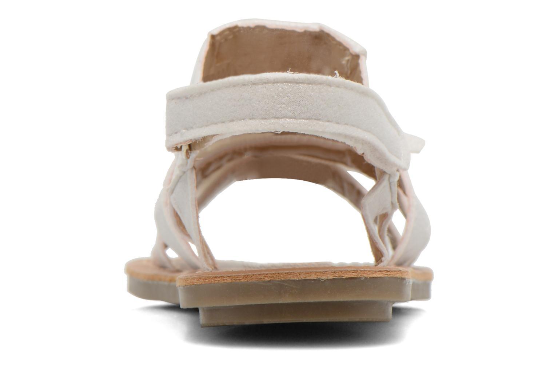 Sandales et nu-pieds I Love Shoes Kidfrange Blanc vue droite