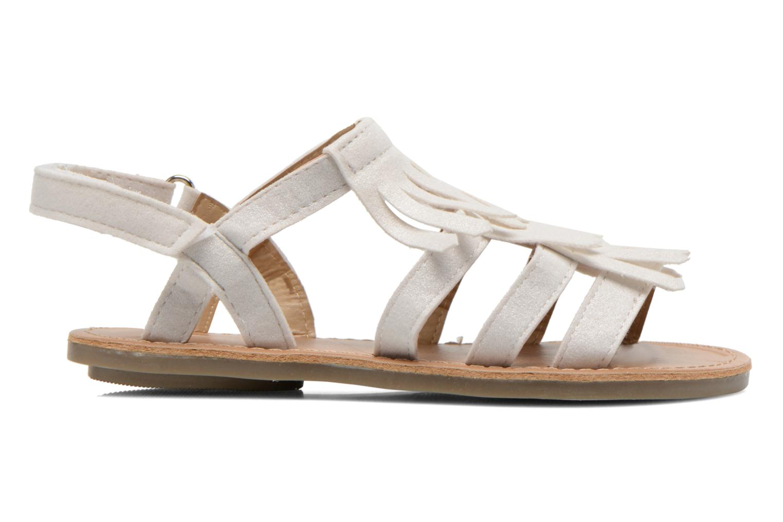 Sandales et nu-pieds I Love Shoes Kidfrange Blanc vue derrière