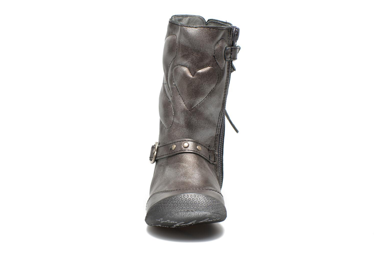 Bottes Babybotte Amaia Argent vue portées chaussures