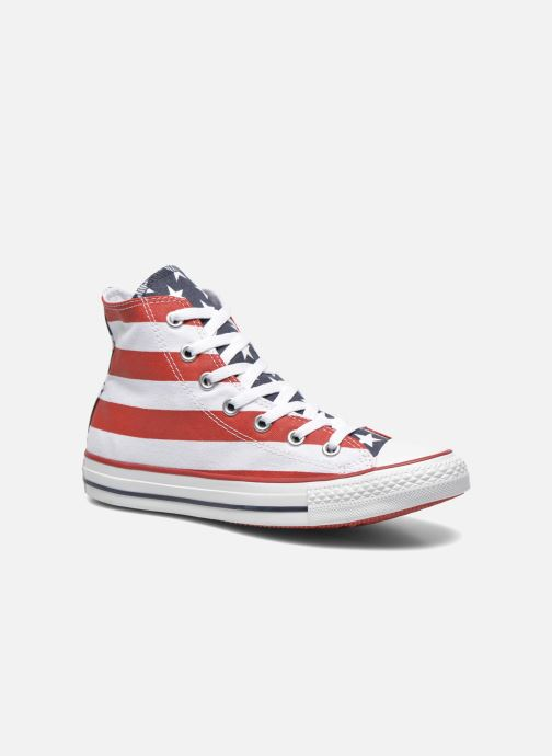 Baskets Converse Chuck Taylor Stars & Bars Hi W Multicolore vue détail/paire