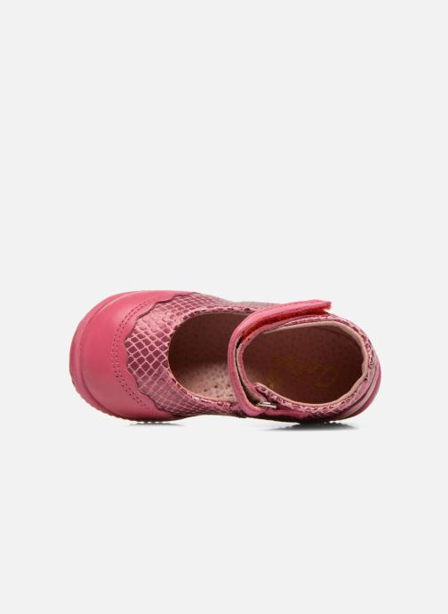 Ballet pumps Aster Deonia Pink view from the left