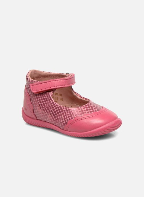Ballet pumps Aster Deonia Pink detailed view/ Pair view