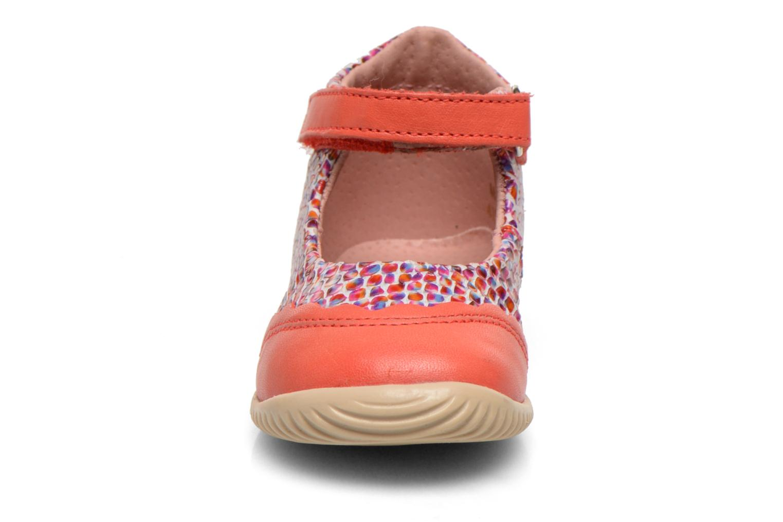 Ballerines Aster Deonia Orange vue portées chaussures