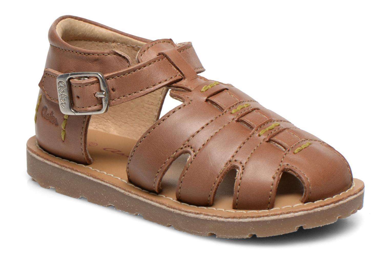 Sandales et nu-pieds Aster Ely Marron vue détail/paire