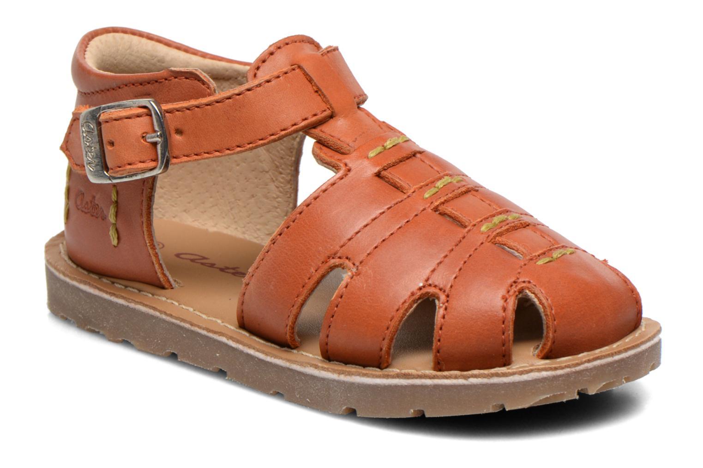 Sandales et nu-pieds Aster Ely Orange vue détail/paire