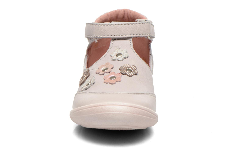 Chaussures à scratch Aster Matilde Gris vue portées chaussures
