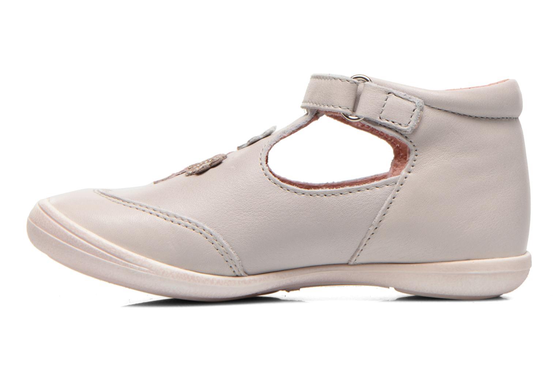 Chaussures à scratch Aster Matilde Gris vue face