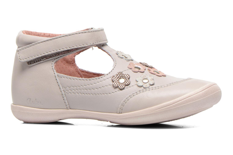 Chaussures à scratch Aster Matilde Gris vue derrière