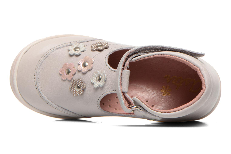 Chaussures à scratch Aster Matilde Gris vue gauche