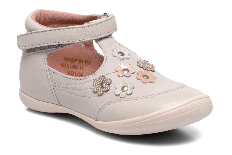 Chaussures à scratch Aster Matilde Gris vue détail/paire