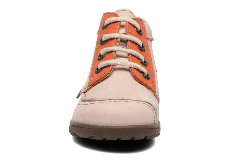 Bottines et boots Aster Tirlo Beige vue portées chaussures