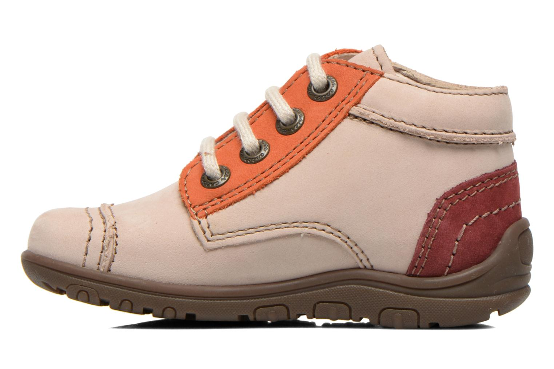 Bottines et boots Aster Tirlo Beige vue face