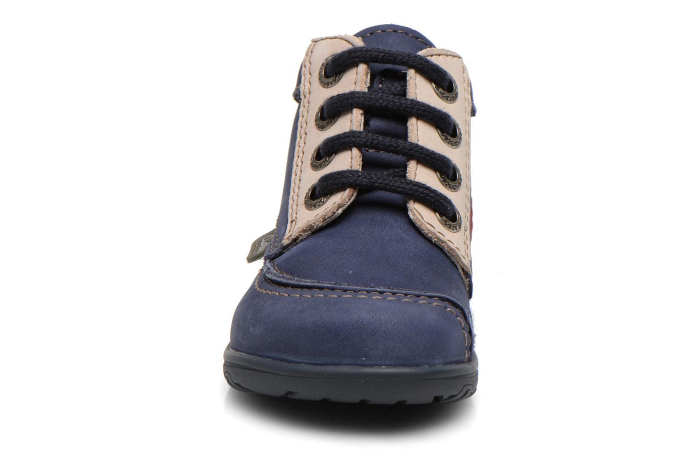 Bottines et boots Aster Tirlo Bleu vue portées chaussures