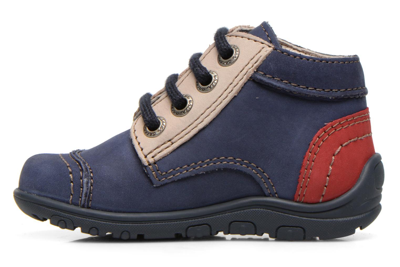 Bottines et boots Aster Tirlo Bleu vue face