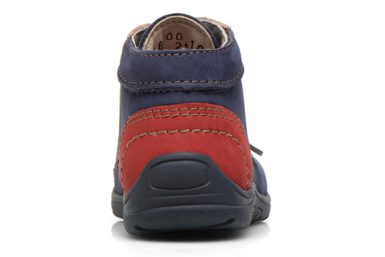 Bottines et boots Aster Tirlo Bleu vue droite