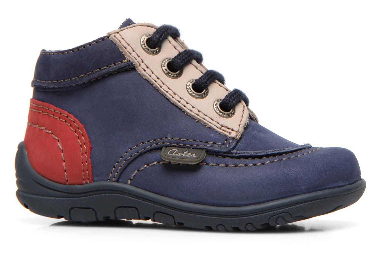 Bottines et boots Aster Tirlo Bleu vue derrière