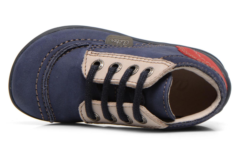 Bottines et boots Aster Tirlo Bleu vue gauche