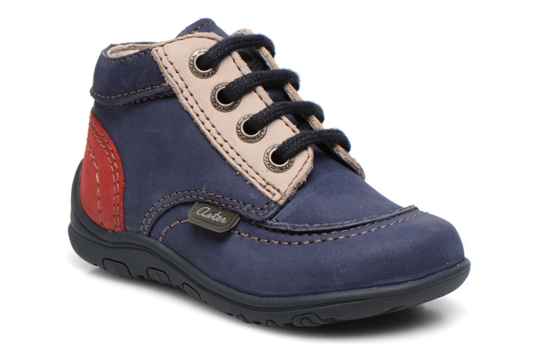 Bottines et boots Aster Tirlo Bleu vue détail/paire
