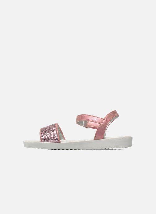 Sandales et nu-pieds I Love Shoes Supaillettes Rose vue face