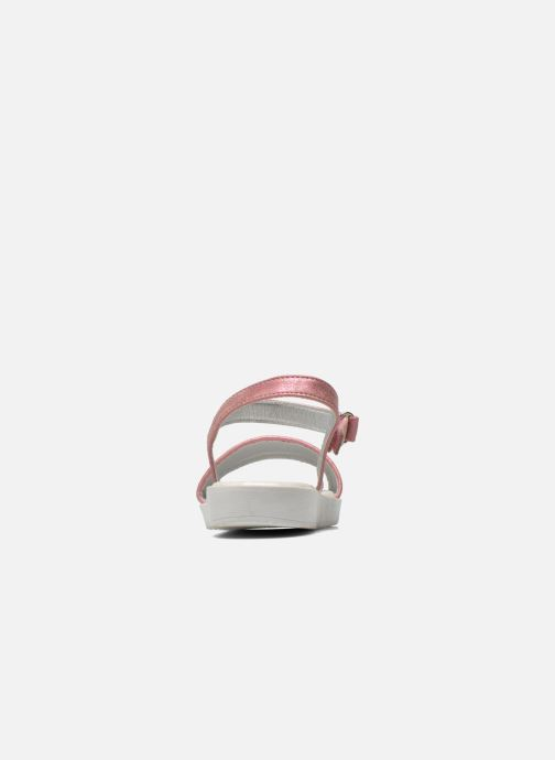 Sandales et nu-pieds I Love Shoes Supaillettes Rose vue droite