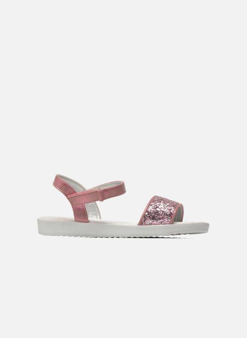 Sandales et nu-pieds I Love Shoes Supaillettes Rose vue derrière