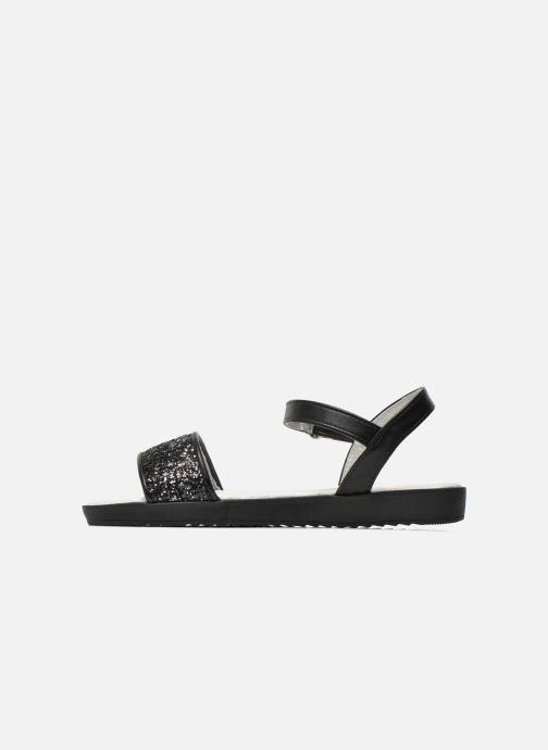 Sandales et nu-pieds I Love Shoes Supaillettes Noir vue face