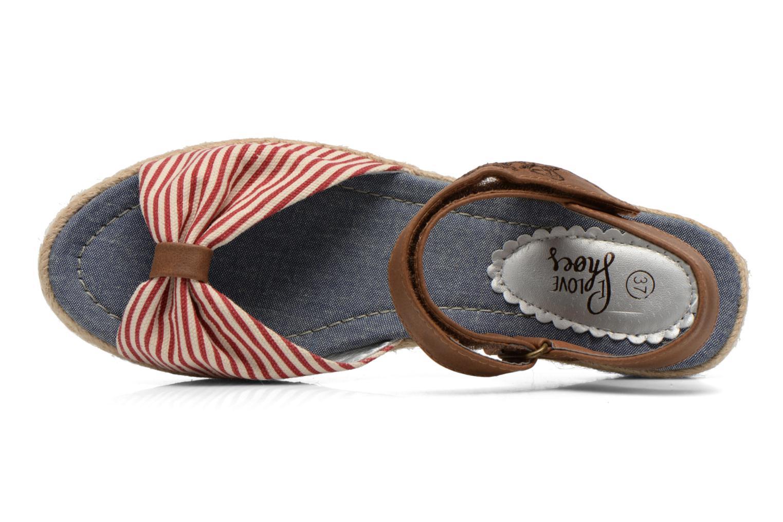 Sandalen I Love Shoes Sudrira Rood links