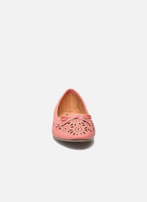 Ballet pumps I Love Shoes Suflata Pink model view