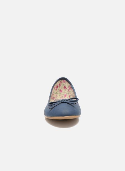 Ballerines I Love Shoes Sufllatina Bleu vue portées chaussures