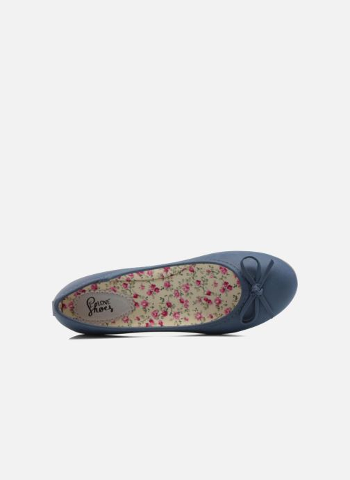 Ballerines I Love Shoes Sufllatina Bleu vue gauche