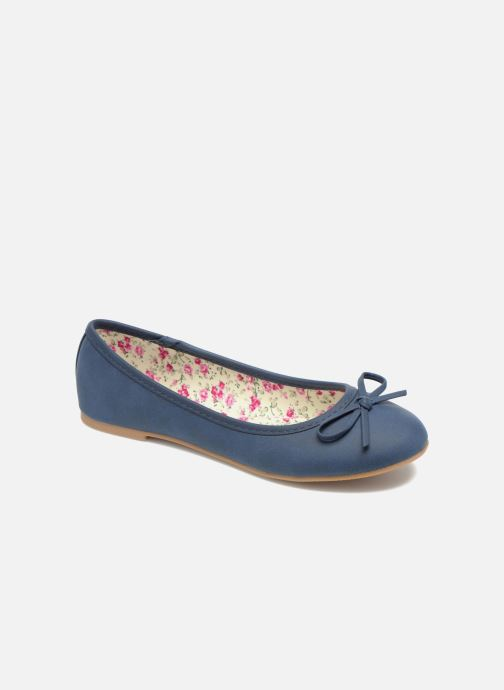 Ballerines I Love Shoes Sufllatina Bleu vue détail/paire