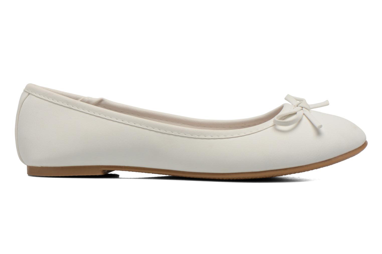 Ballerines I Love Shoes Sufllatina Blanc vue derrière
