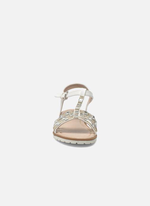 Sandales et nu-pieds I Love Shoes Sutrass Blanc vue portées chaussures