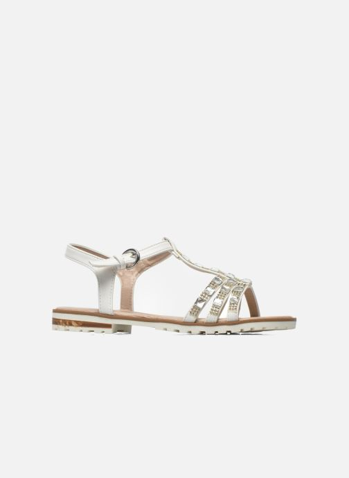 Sandals I Love Shoes Sutrass White back view