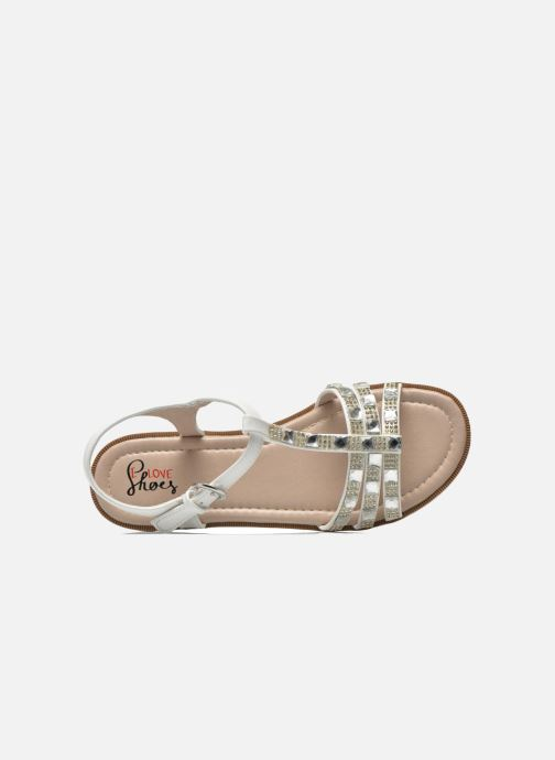 Sandales et nu-pieds I Love Shoes Sutrass Blanc vue gauche