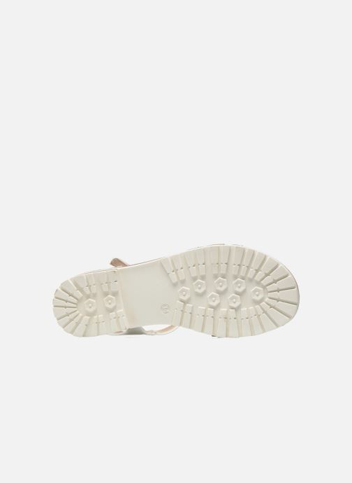 Sandals I Love Shoes Sutrass White view from above
