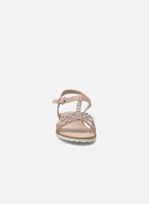 Sandales et nu-pieds I Love Shoes Sutrass Rose vue portées chaussures