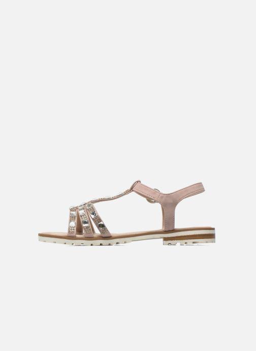 Sandales et nu-pieds I Love Shoes Sutrass Rose vue face
