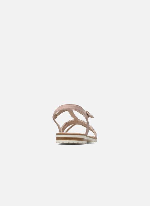 Sandales et nu-pieds I Love Shoes Sutrass Rose vue droite