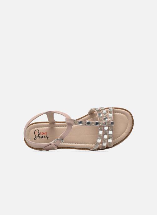 Sandales et nu-pieds I Love Shoes Sutrass Rose vue gauche