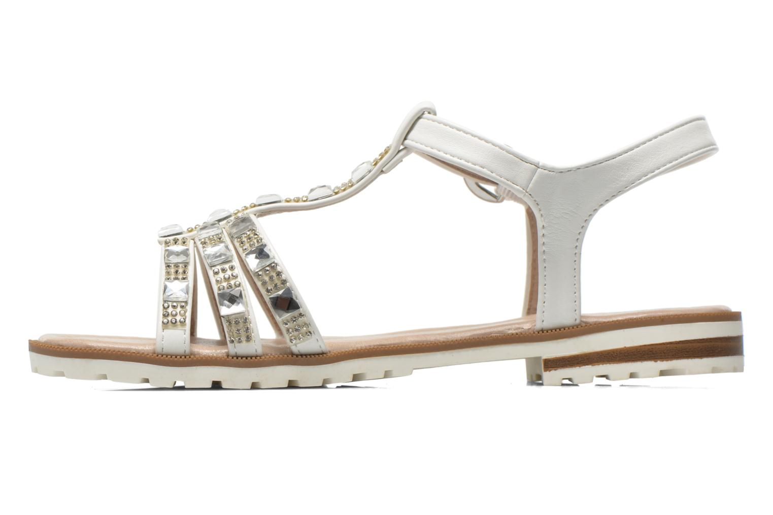 Sandals I Love Shoes Sutrass White front view